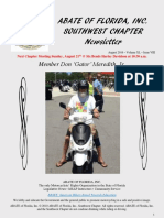 Southwest Chapter of ABATE of Florida August 2016