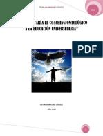El Coaching Ontologico Aplicado a La Educacion Universitaria - Autor_Maria_Ines_Litavez