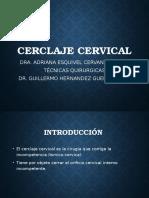 Cerclaje Cervical