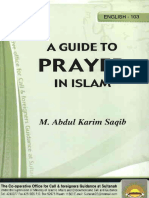 A Guide to Prayer in Islam[1]