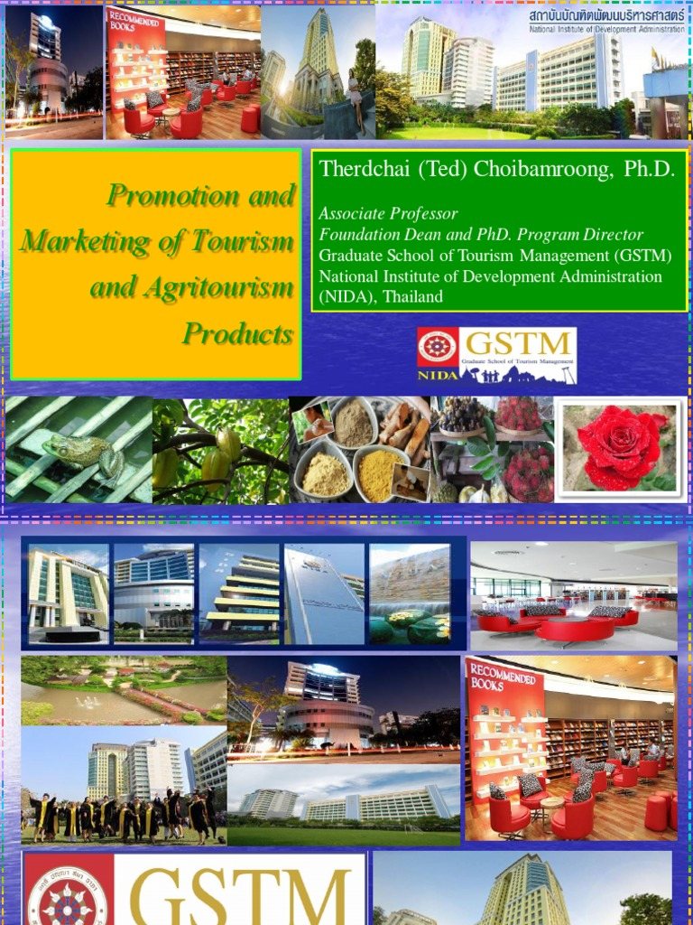 Promotion and Marketing of Tourism and Agritourism ...