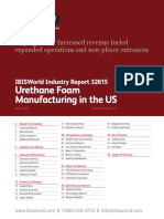 32615 Urethane Foam Manufacturing in the US Industry Report