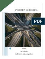 Transportation Engineering Korukonda Vinay