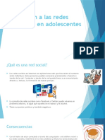 Adicción a Las Redes Sociales en Adolescentes Jorge