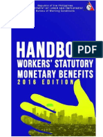 May 2016 Handbook of Statutory Monetary Benefits