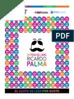 Programacion - 36 Feria del Libro Ricardo Palma