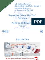 Future Networks - Session 4- Regulating OTT Services V1-0