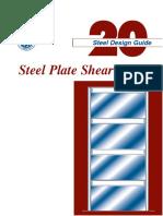 AISC - Design Guide 20 - Steel Plate Shear Walls