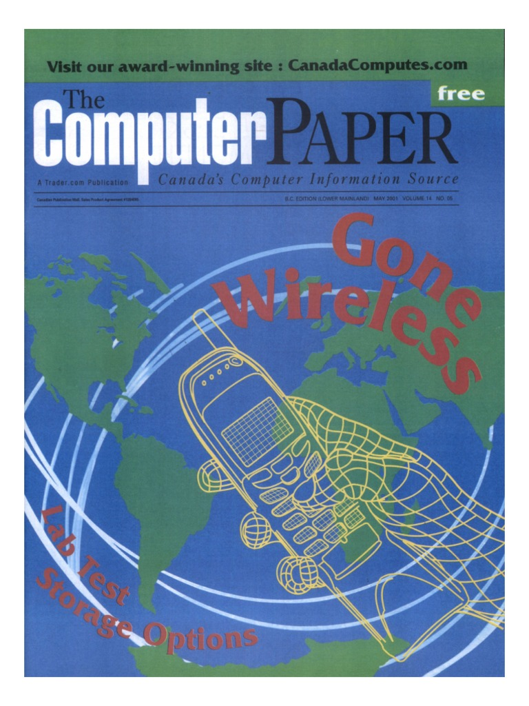 2001-05 the Computer Paper - BC Edition | Wireless | Computer Network