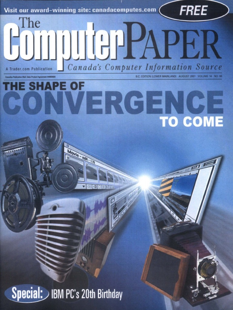 2001-08 the Computer Paper - BC Edition | Personal Computers | Office  Equipment