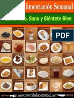 BONO 1 - Plan de Alimentación Semanal Paso a Paso (Come Rico y Sano & Sientéte Bien)