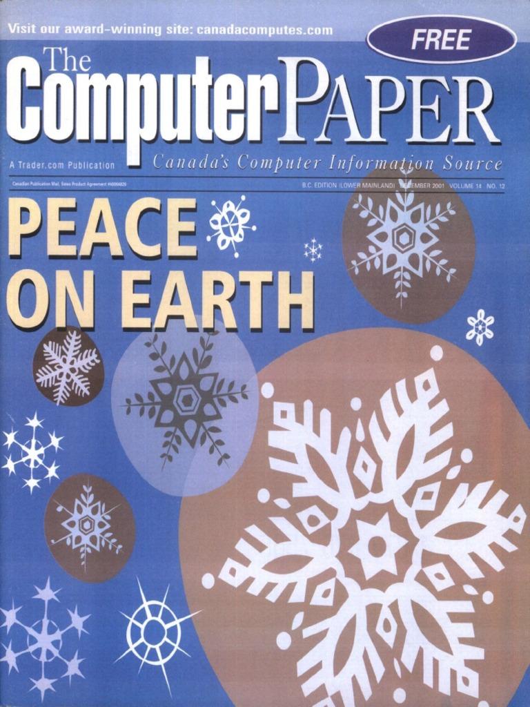 2001 12 The Puter Paper BC Edition Biometrics