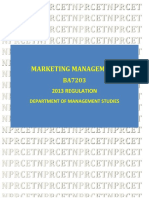 BA7203 MARKETING MANAGEMENT             LT P C 4 0 0 1.pdf