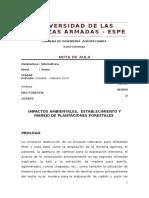 Nota de Aula Plantaciones Forestales 2016