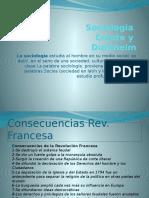 Sociologia Comte y Durkheim Si A