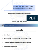 IFF Banco de Moçambique InclusãoFinanceira