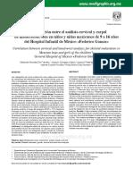 La correlación entre el análisis cervical y carpal de maduración ósea en niños y niñas mexicanos de 9 a 16 años del hospital infantil de México.pdf