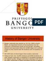 Bangor University Consultancy by Global Opportunities