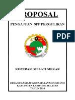 Proposal Pinjaman PNPM