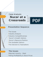 Nucor at a crossroads
