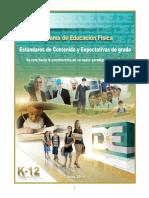 Estandares de Educacion Fisica