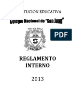 Reglamento Interno 2013 2
