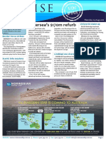 Cruise Weekly for Thu 04 Aug 2016 - Silversea refurb, Uniworld appointment, Royal Caribbean, Scenic, Carnival, Solomon Islands AMPERSAND more