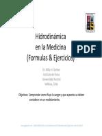 UACH Fisica en La Medicina 03 Hidrodinamica Ejercicios