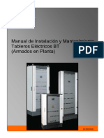 Manual de Inst y Mantto Tabl Eléc BT 91336_R00