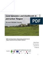 Land dynamics and livelihoods in peri-urban Yangon - GRET.pdf