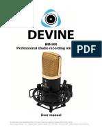 Devine Bm 500 Condensator Microphone