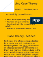Developing Case Theory