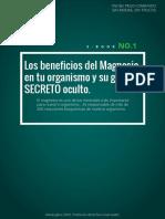 Dietaryplus. Los Beneficios Del Magnesio y Su Secreto Oculto
