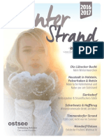 Winterstrand 2016/17 - Das Wintermagazin der Lübecker Bucht