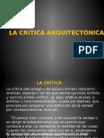 Critica-arquitectónica