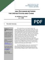 china-US education exchange