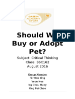 Should We Buy or Adopt Pets.docx