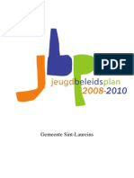 jeugdbeleidsplan 2008-2010