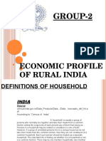 Economy of Rural India(Group-2)Ppt