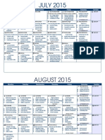 Agenda 8 Week YCT