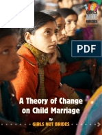 A Theory of Change on Child Marriage Background Brief
