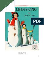 E. Blyton-Le Club Des Cinq