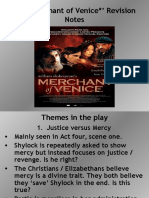 The Merchant of Venice Revision Notes
