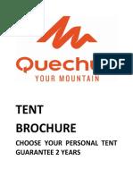 Quechua Tents