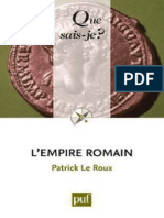 L'empire romain - Le Roux Patrick.pdf