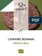 L'empire romain - Le Roux Patrick.pdf