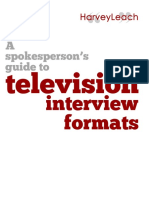 Television Interview Formats