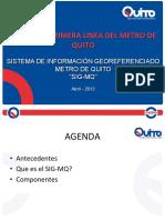 2-Sistema de Informacion Georeferenciado Del METRO