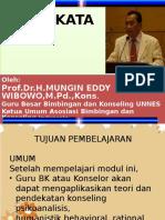 Pendekatan Konseling oleh Prof Mungin (edit 21-10-2015)