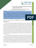 24. Ijasr - Performance Evaluation of Manual Operated Single Row.